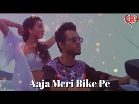 Aaja Meri Bike Pe    Love Romantic Song    Whatsapp Status Video