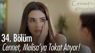 Cennet, Melisa'ya tokat atıyor! - Cennet'in Gözyaşları 34. Bölüm