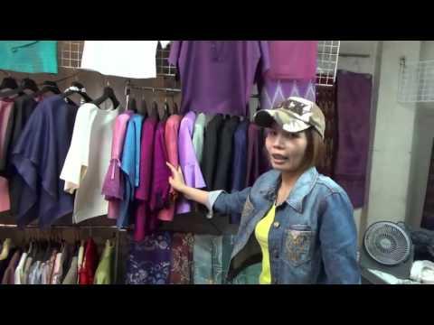 ผ้าไหมไทยคุณภาพ ร้านศิลามณี