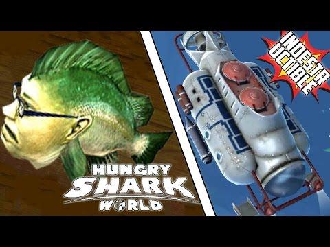 ¿LA LUBINA KEMPY EN Hungry Shark World? ¡NUEVO SUBMARINO INDESTRUCTIBLE!