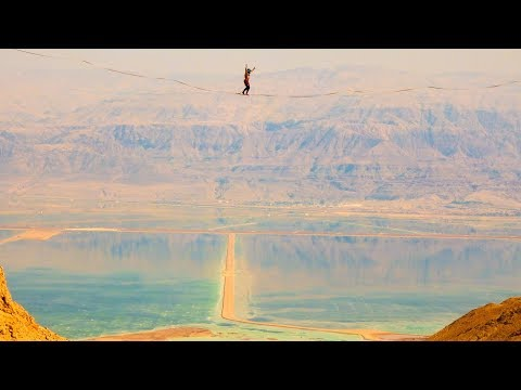 Above the Lowest Point on Earth | Dead Sea Highline