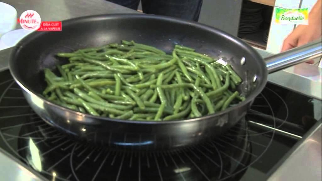 bonduelle - légumes minute ®, haricots verts en sauteuse - youtube