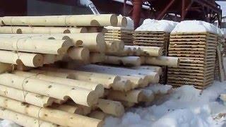 Зимний лес для оцилиндрованного бревна, СеверСтройЛес(Строительство деревянных домов из оцилиндрованного бревна под ключ компанией СеверСтройЛес. Поставка..., 2015-12-21T15:27:11.000Z)