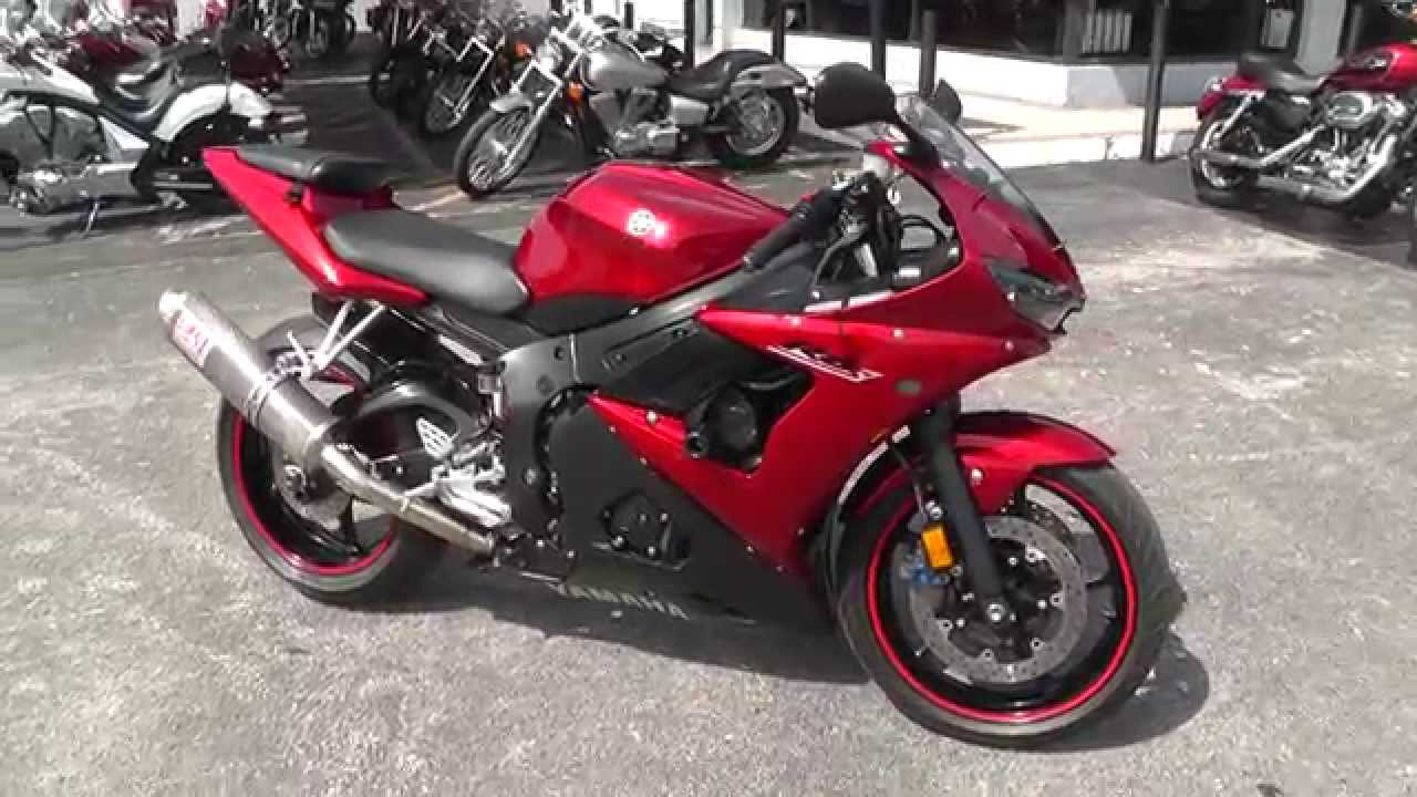 033066 2007 yamaha r6 used motorcycle for sale youtube. Black Bedroom Furniture Sets. Home Design Ideas