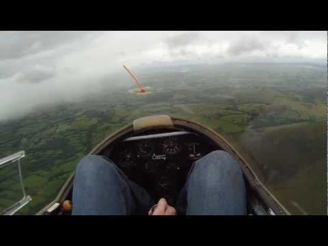 Drift HD170: Trial Lesson at Black Mountains Gliding Club (K