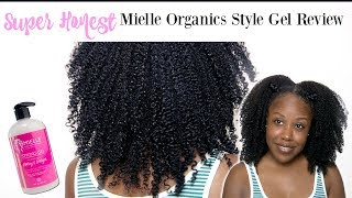 SUPER HONEST Mielle Organics Ginger + Honey Styling Gel Review on Curly Natural Hair