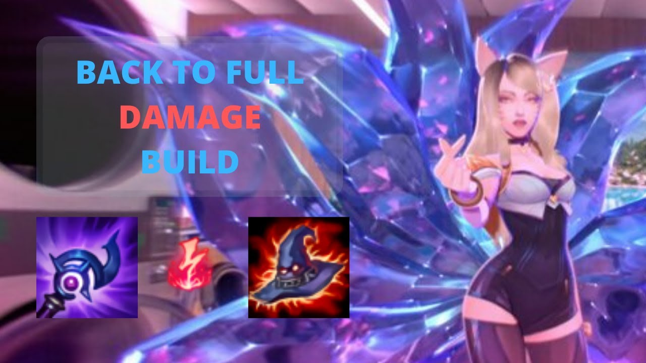 BACK TO ASSASSIN AHRI BUILD   Ahri Gameplay S10 - YouTube