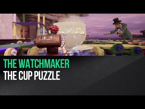 The Watchmaker - The cup puzzle |