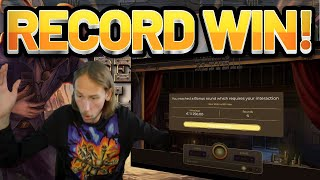 RECORD WIN!! Dead Or Alive 2 BIG WIN - HUGE WIN on Casino game from Casinodaddys live stream