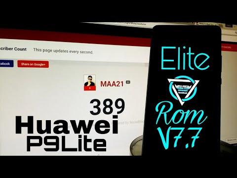 Huawei P9 Lite Custom ROM Videos - Waoweo