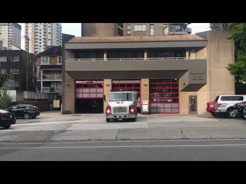 Vancouver Fire & Rescue Services - Rescue Engine 7 & Medic 7 Responding