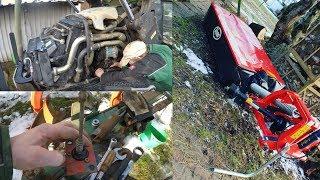 Farmvlog #18 Reparatur am Agrotron 105 + neues Mähwerk