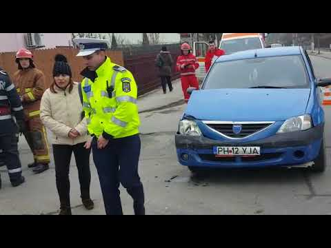Campinatv.ro - Accident intersecție străzi Constantin Stere cu Conductelor