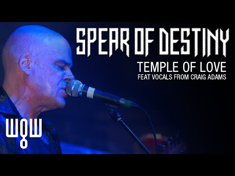 Whitby Goth Weekend - Spear Of Destiny - 'Temple Of Love' Live