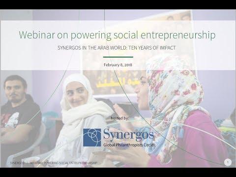 GPC Webinar Powering Social Entrepreneurship in the Arab World