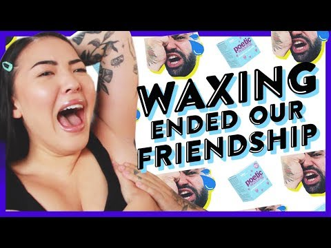 Watch Us Wax Each Other!! | GBT | soothingsista