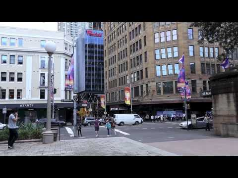 Australia Trip (part 1: Sydney Walk Around)