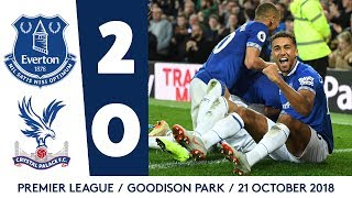TOSUN STRIKES AGAIN AT GOODISON! | EVERTON 2-0 CRYSTAL PALACE
