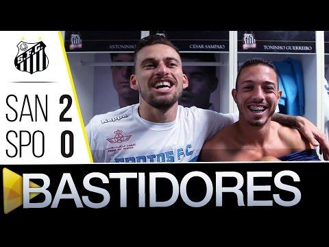 Santos 2 x 0 Sport | BASTIDORES | Brasileirão (15/06/16)