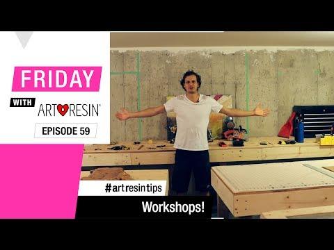 Dave's Resin Workshop!