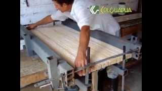 laminados de guadua bambu  laminated bamboo