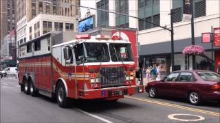 FDNY SERIOUS HEAVY AIR HORN USAGE 2014 COMPILATION - MERRY CHRISTMAS AND HAPPY NEW YEAR IN 2015. thumbnail