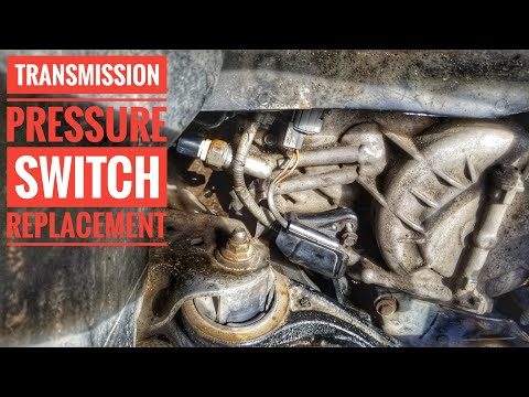HOW TO REPLACE ACURA TL TRANSMISSION  3RD AND 4TH PRESSURE SWITCH TUTORIAL