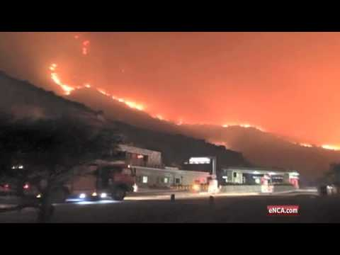 Cape fires: emergency services prove their mettle