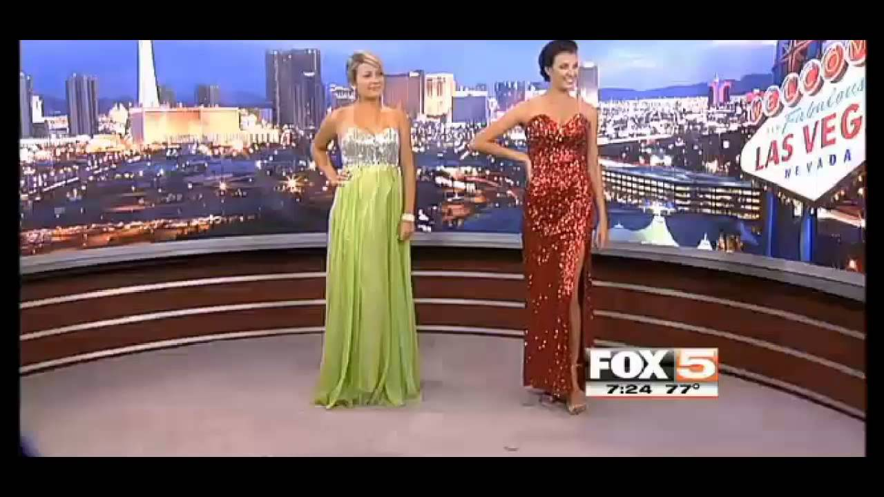 Fox 5 News Covers Rent-A-Dress and Tux Shop for Prom Dresses and ...