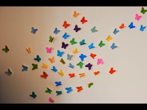 DIY: Easy Paper Butterfly Tutorial
