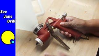 How to Spray Orange Peel and Knock-Down Textures