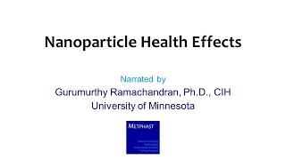 Module 10: Nanoparticle Health Effects