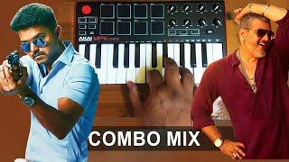Theri - Vedhalam Mass Bgm | Band Mix By Raj Bharath | #Thala #Thalapathy #combo |