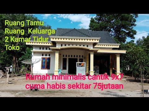 60 Desain Rumah Minimalis Type 7 X 9 Modern 2019 Rumah Minimalis 9 X 7
