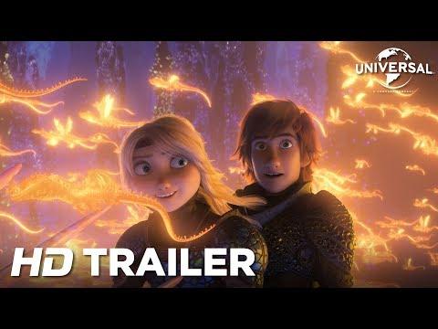 Sådan træner du din drage 3 - Dansk trailer 1 - I biografen 31. januar