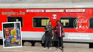 EP #4 - Mumbai Central - New Delhi, 1383 Kms in 15 Hours, Full Journey, India's Fastest Rajadhani