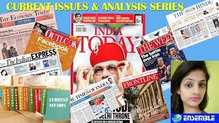 CURRENT ISSUE AND ANALYSIS SERIES (IAS) - भारत की कृषि क्रांतिया