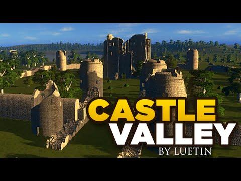 CASTLE VALLEY Custom Map Download - Cities Skylines