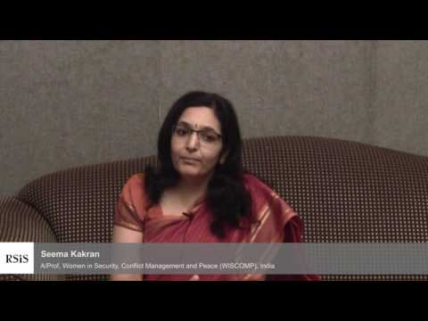 Interview with Seema kakran by the Centre for Non-Traditional Security Studies, RSIS