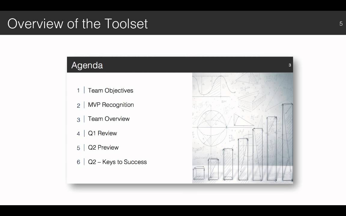team qbr presentation overview - youtube, Presentation templates