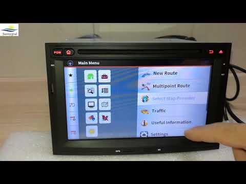 Teste: 7'' Android 8.1 OS Carro Estéreo para Peugeot 3008/5008(2010-2016)