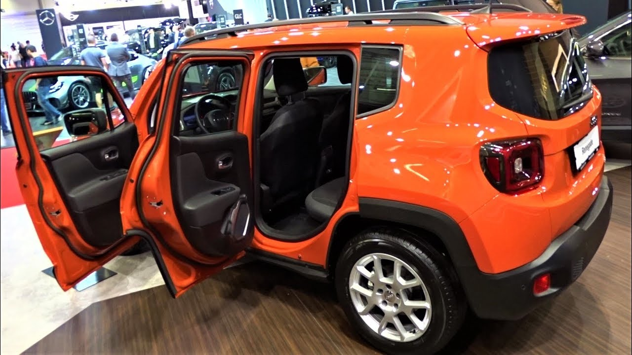 Jeep Renegade Limited 2020 Demonstration Interior Exterior