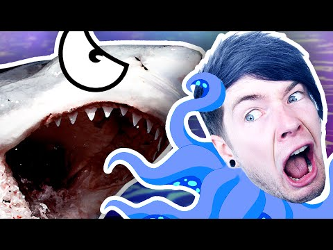 Thumbnail: I GOT EATEN BY A SHARK!! | Octodad #4 [FINALE]