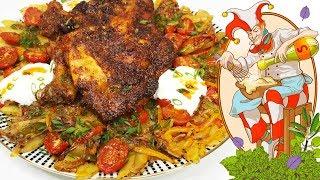 Курица (куриные ножки) в духовке с картошкой. Лучший рецепт!!!