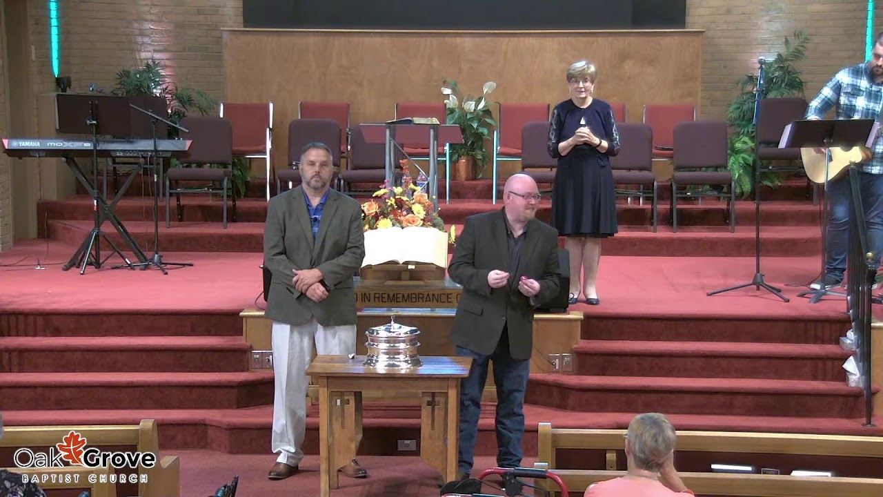 Sunday Morning Worship at OGBC (September 5, 2021)