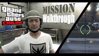 GTA 5 Online Mission Walkthrough #1 - A Titan of a Job (Lester)