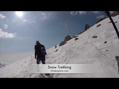 Snow-Line Trek - A Dangerous Trek Above Triund- Mcleodganj - Dharamsala [-16 degree temp]