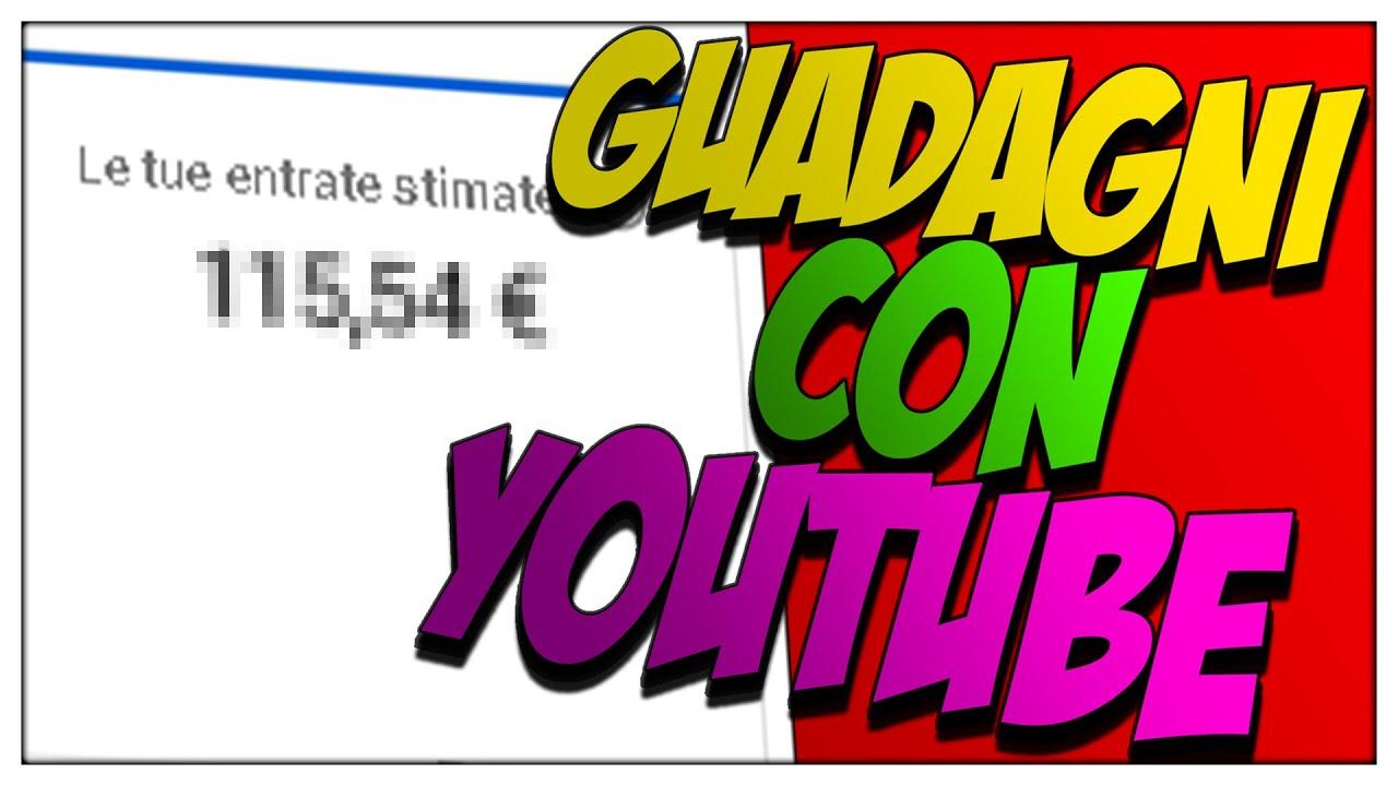 quanto si guadagna con youtube con 1000 iscritti