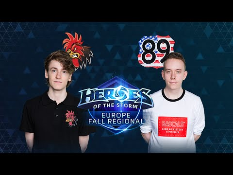 HOTS - Crowing Chickens Vs TEH89 - Game 2 - Group B - Europe Fall Regional