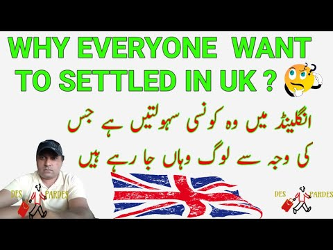 why everyone  want to settled in uk ? | immigrants News |immigration News | Urdu/Hindi